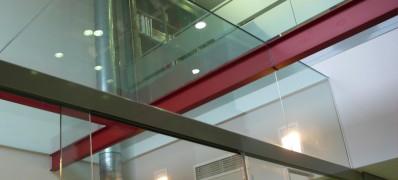 Cerramientos especiales de vidrio
